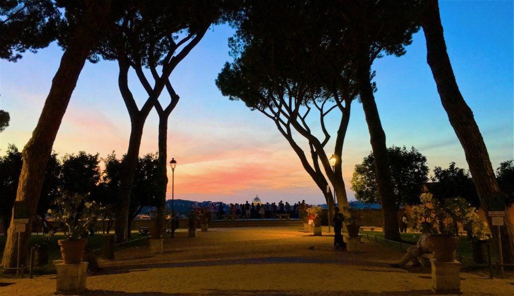 Free self guided walk the ancient city rome vacation tips - Giardino degli aranci frattamaggiore ...