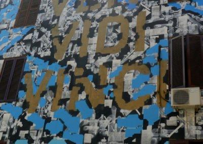 Tor Marancia street art, Lek and Sowat - Rome Vacation Tips