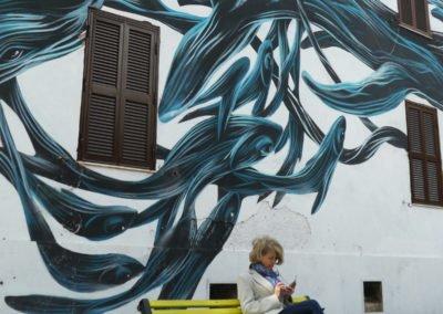 Tor Marancia street art, Pantonio - Rome Vacation Tips