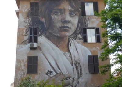 Tor Marancia street art - Rome Vacation Tips