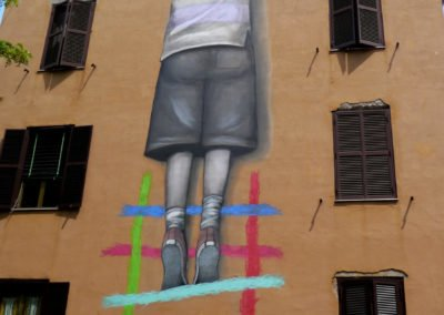 Tor Marancia street art, Seth - Rome Vacation Tips