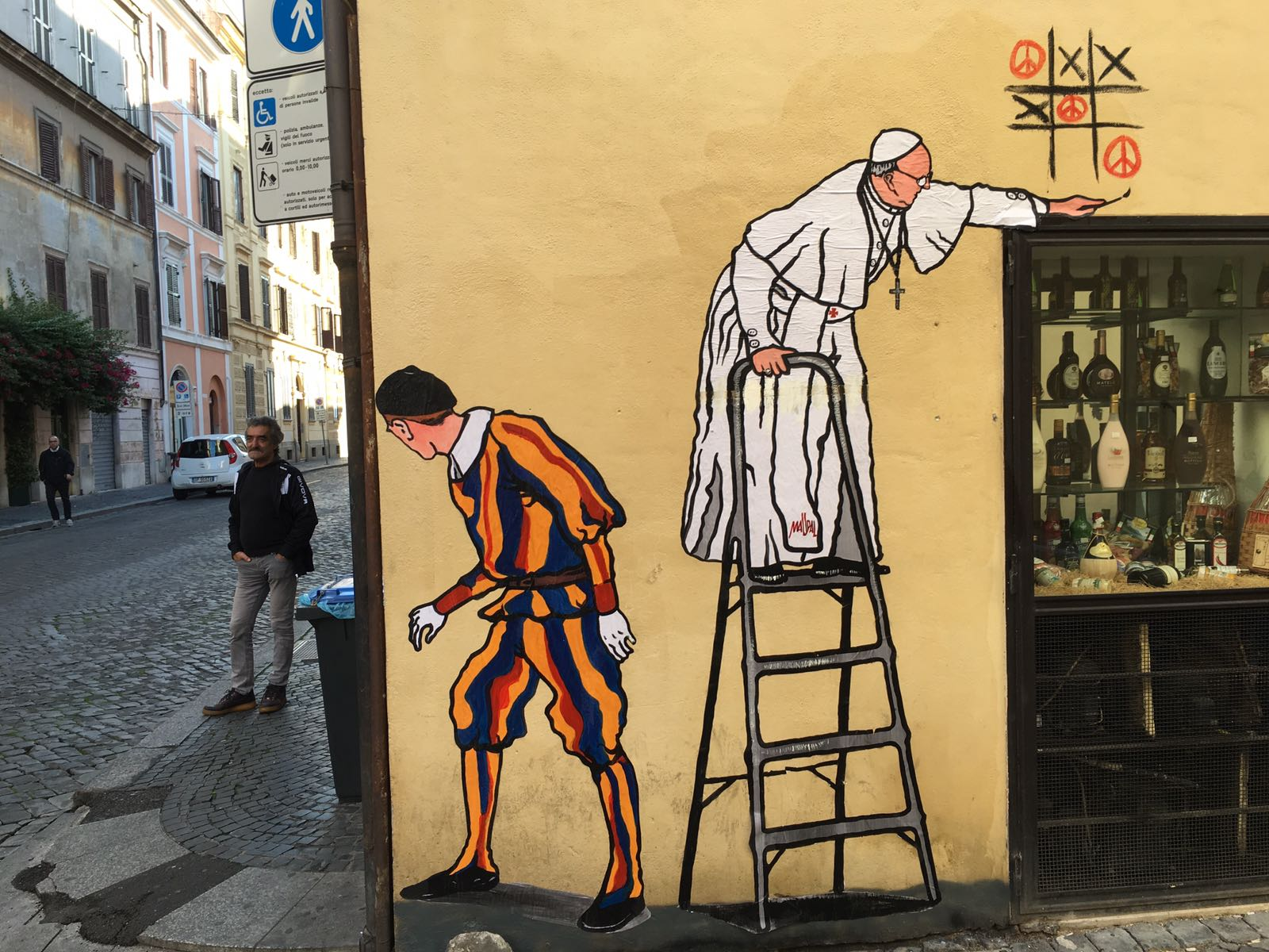 Where can I see street art in Rome? | Rome Vacation Tips